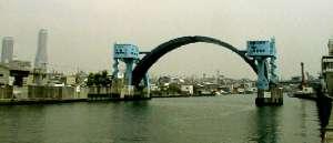 尻無川の水門