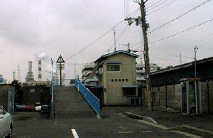 渡船場入り口の風景
