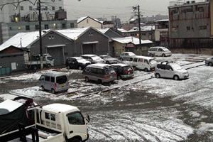 大正区の雪化粧5