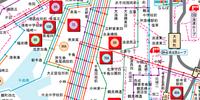 大正区市バス路線図