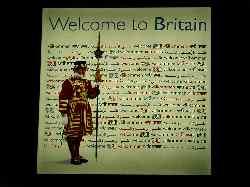 イギリス到着!!