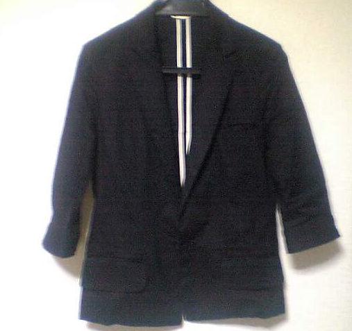 七分丈のジャケット